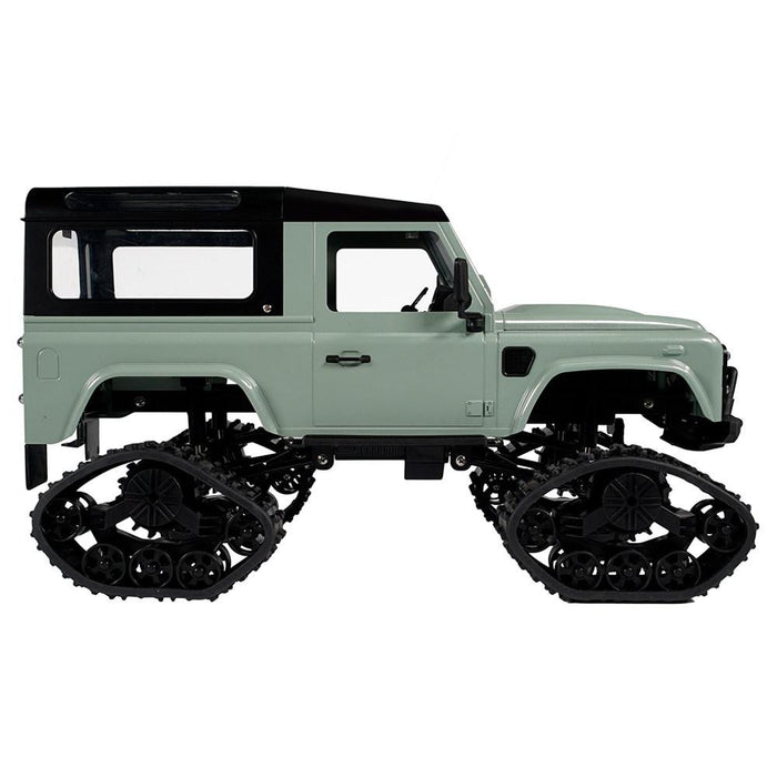 Fayee FY003AB 2.4G 1:16 4WD Metal Frame Off-road RC Car RTR Snow Tires - Green