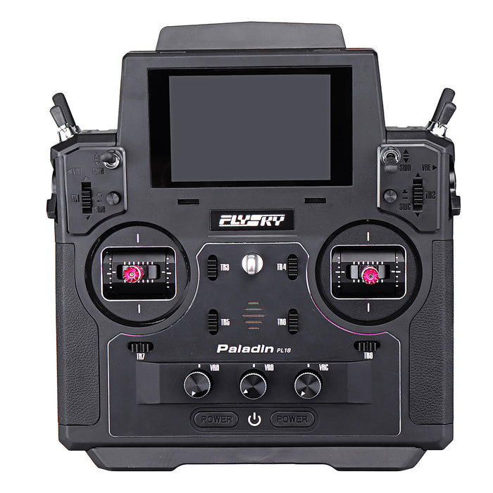 FLYSKY FS-PL18 Paladin 2.4G 18CH Radio Transmitter with FS-FTr10 Receiver HVGA 3.5 Inch TFT Touch Screen  Mode 2(Left Hand Throttle)