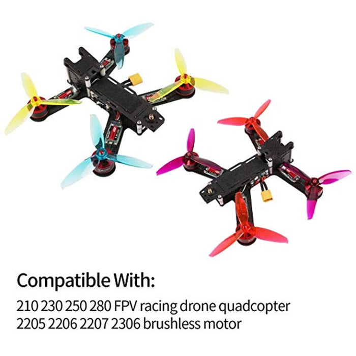 16pcs Gemfan 5043 3-Blade Propeller WinDancer 5 inch CW CCW  Freestyle FPV RC Drone
