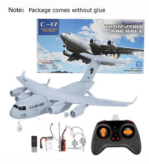 Boeing C17 C-17 Globemaster III Wingspan 373mm DIY EPP Radio Controlled RC Airplane