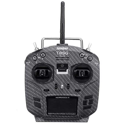 Jumper T8SG V3 Carbon Special Edition Hall Gimbal Multi-protocol Advanced Transmitter for Flysky Frsky