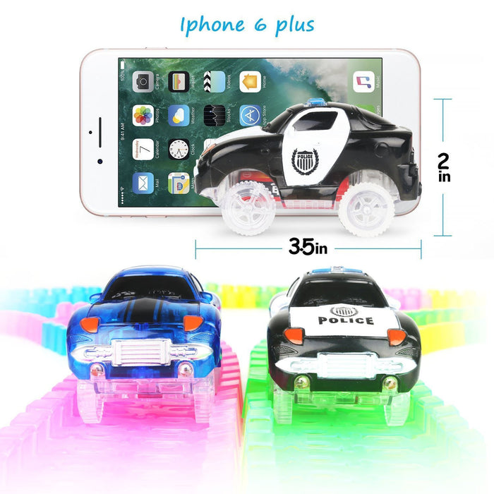 Led Lights For Cars >> Car And Tracks Magic Track Cars With 5 Led Lights Makerfire