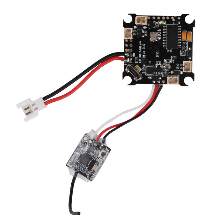 Makerfire Mini F3 FC Brushed Flight Controller with Betaflight OSD Molex 2-Pin 2.0 Connector Flysky RX2A Receiver For RC Drone