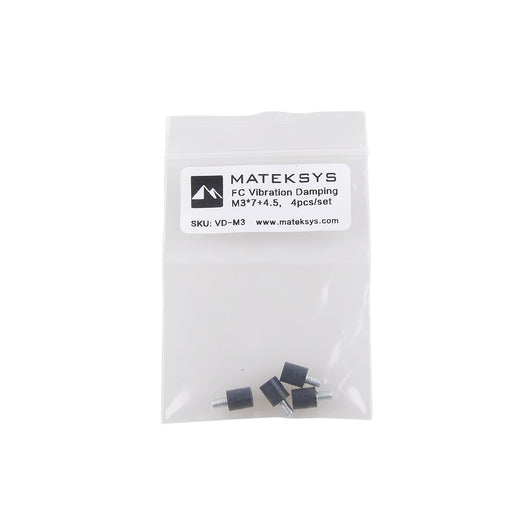 Standoff Screws Anti-vibration M3 Flight Controller Rubber Standoffs for Naze32 F3 F4