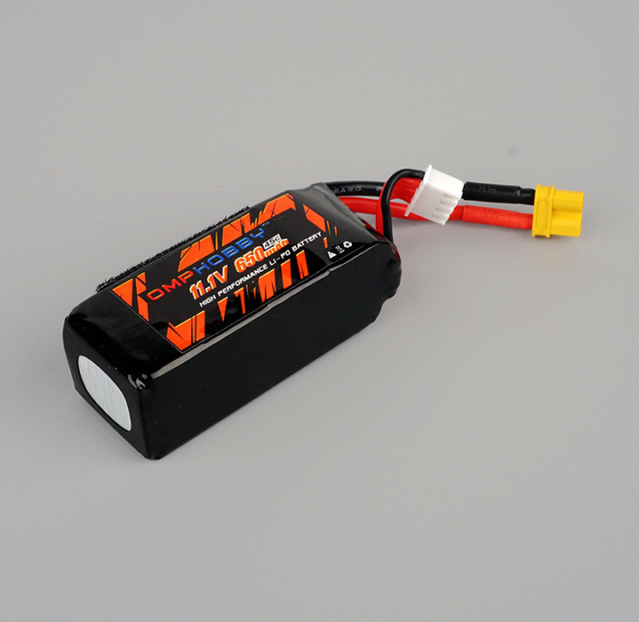 OMPHOBBY M2 EXP/2020 RC Helicopter Parts 11.1V 650mAh 45C 3S1P Lipo Battery