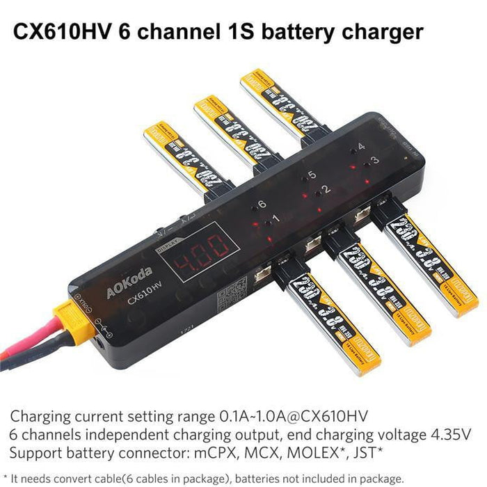 CX610HV 1S Battery Charger