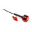 Cherry UFL 5.8GHz 85.5mm 2.5DBi Omni Antenna FPV Antenna for FPV Racing Drone Red