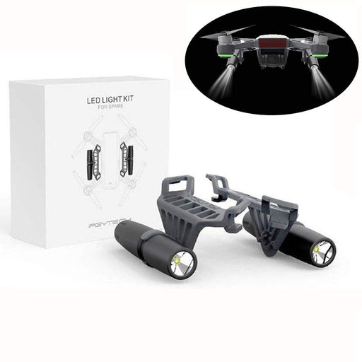 Small Flashlight Long-Range Luminosity Adjustable LED Light Kit for DJI Spark