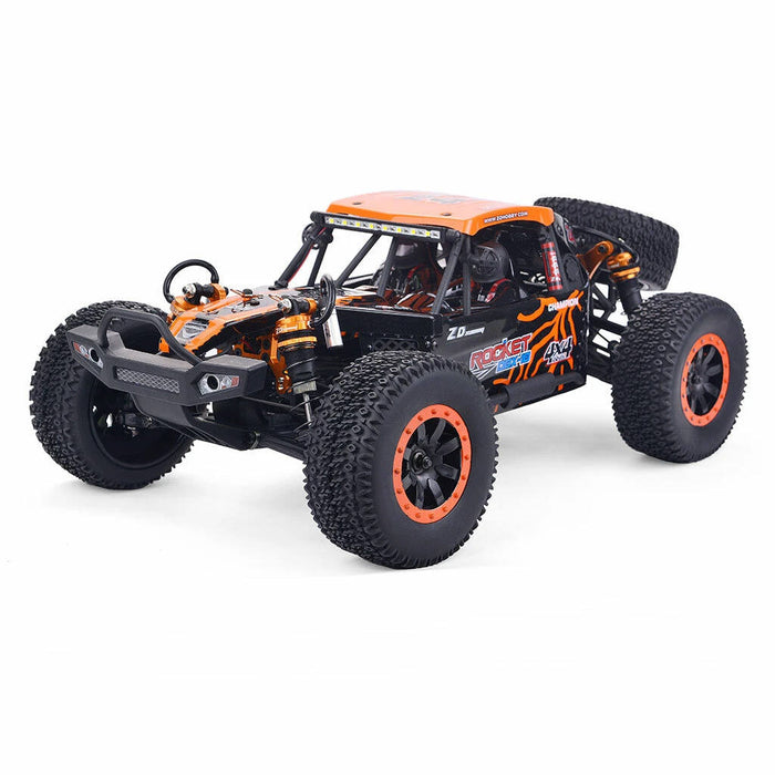 Red /Orange ZD Racing DBX 10 1/10 4WD 2.4G Desert Truck Brushed RC Car Off Road Vehicle Models 55KM/H