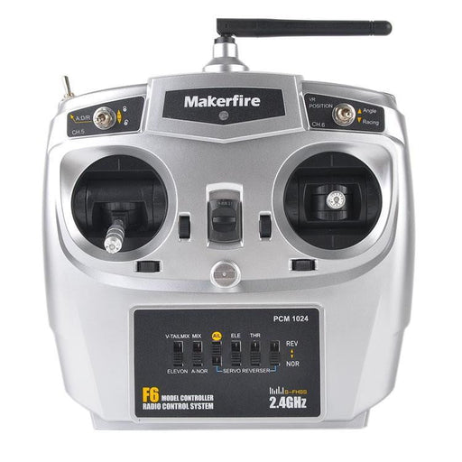 Makerfire F6 2.4GHz 10CH RC Transmitter TX with SBUS Receiver for Armor 90 Armor 67