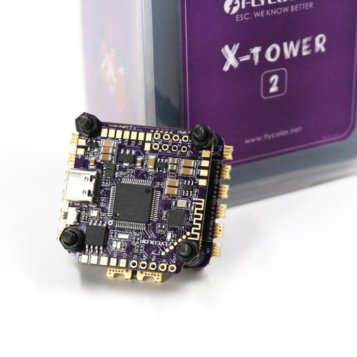 FLYCOLOR X-Tower 2 F7 FC – 60A 4-in-1 ESC 3-6s Stack