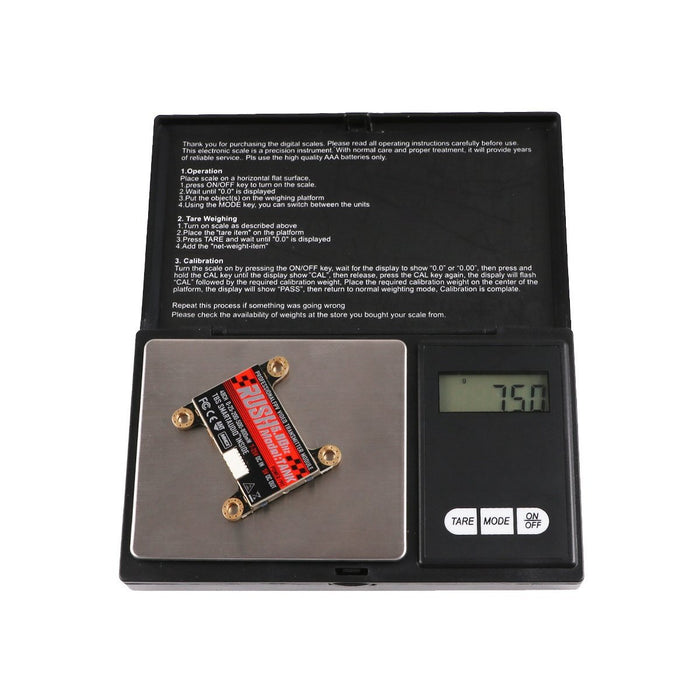 FPV Transmitter RUSH TANK 5.8GHz 48CH 0/25/200/500/800mW Switchable VTX Video Transmitter