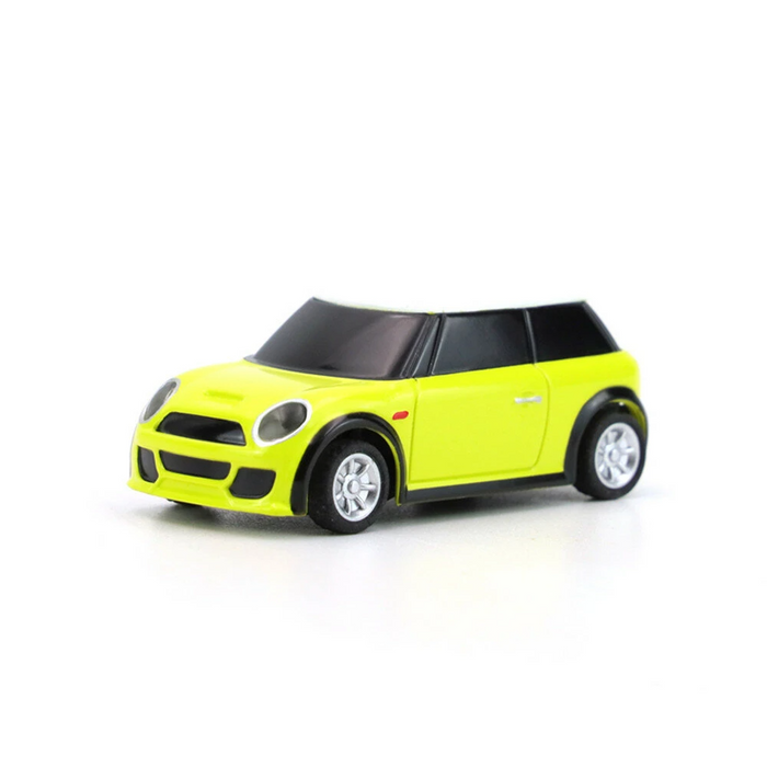 Turbo Racing RTR 1/76 2.4G 2WD Fully Proportional Control Mini RC Car LED Light Vehicles Model Kids Children Toys