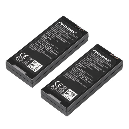 Fullymax  1100mAh 3.8 V Li-Po Battery for DJI Tello RC Quadcopter Drone Battery (Pack of 2)