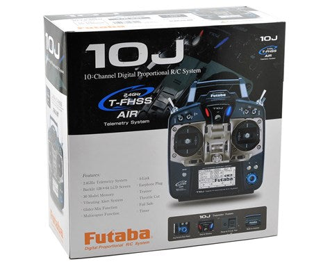 Futaba 10J 2.4GHz S-FHSS Radio System with R3008SB Receiver