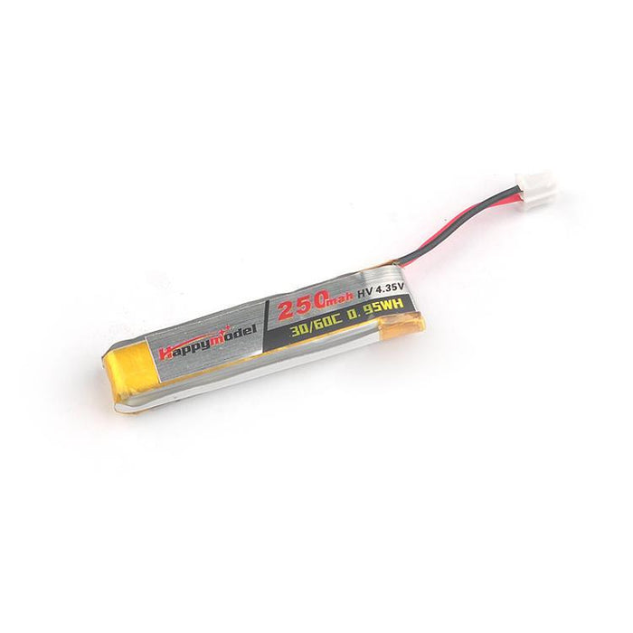 Happymodel 3.8v 250mah LiHV Battery for Mobula7 and Mobula6 HD (4pcs)