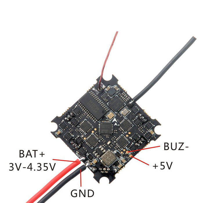 Happymodel Mobula6 Part Crazybee F4 Lite 1S Flight Controller AIO ESC Receiver & 25mW VTX