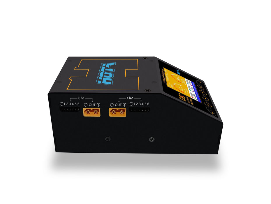 HOTA D6+ AC 300W DC 2X325W 2X15A Dual Channel Smart Battery Charger(US/EU)