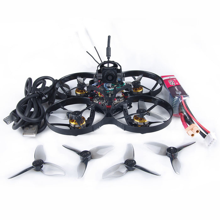 Geelang ANGER 85X 1080P HD Cine Whoop 2-3S FPV Racing Drone Caddx Baby turtle 1080 FPV Camera