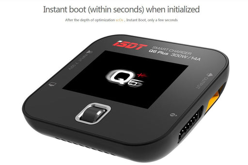 ISDT Q6 Plus Smart Battery Balance Charger DC 300W 14A
