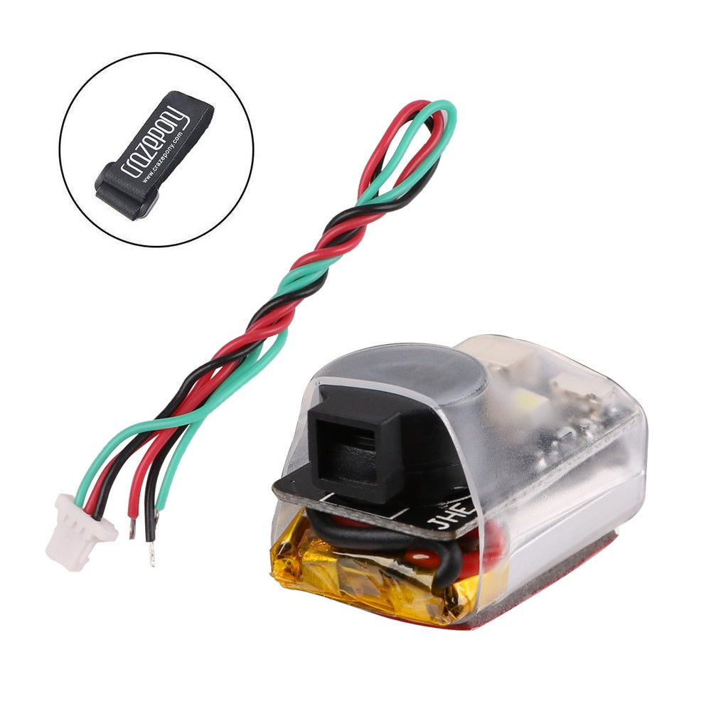JHE42B Finder RC Quadcopter 110dB 5V Loud Buzzer Beeper Tracker alert for BF/CF Flight Controller FPV Racing Drone