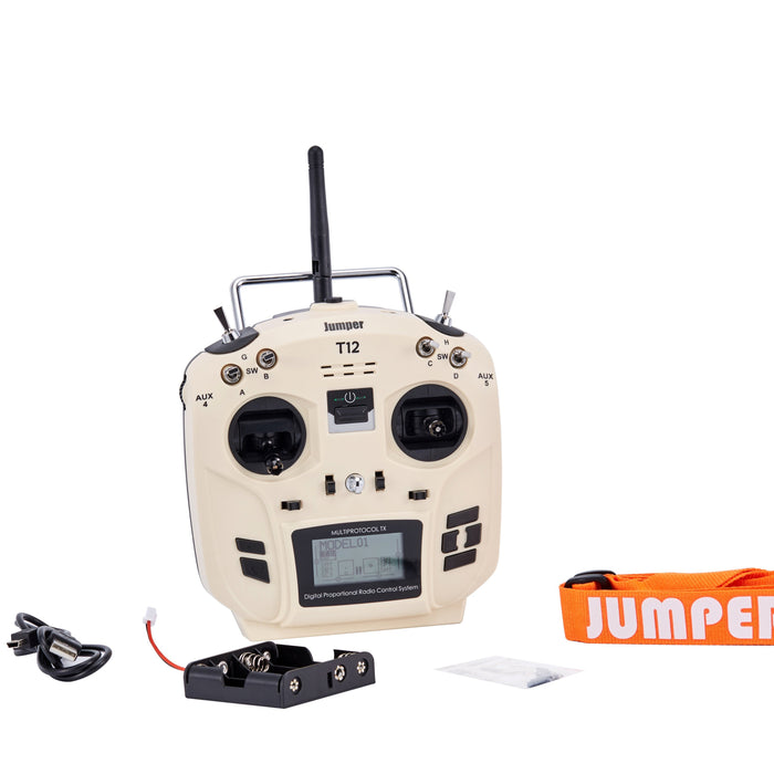 Jumper T12 OpenTX 16ch Radio with JP4-in-1 Multi-protocol RF Module