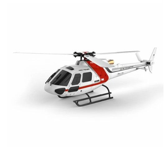 XK K123 6CH Brushless AS350 Scale RC Helicopter BNF Compatible with FUTABA S-FHSS