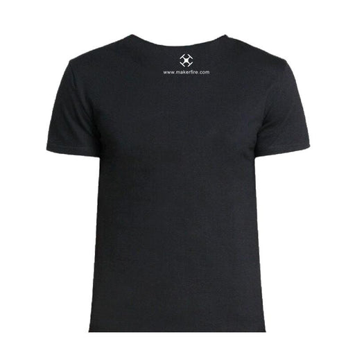 Makerfire T-Shirt Cotton  Black