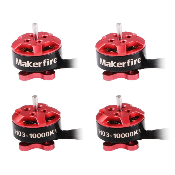 Makerfire 1103 10000KV Brushless Motors 1-3s 12P for Armor 85 HD FPV Racing RC Drone (4pcs)