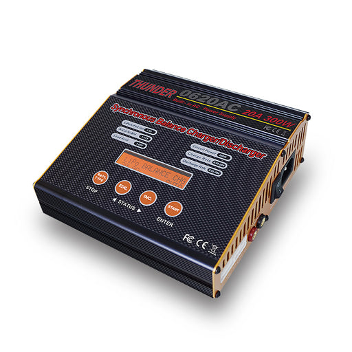 THUNDER 0620AC Balance Charger 300W 20A Full Power Balance Battery Charger AC Input Euro Plug