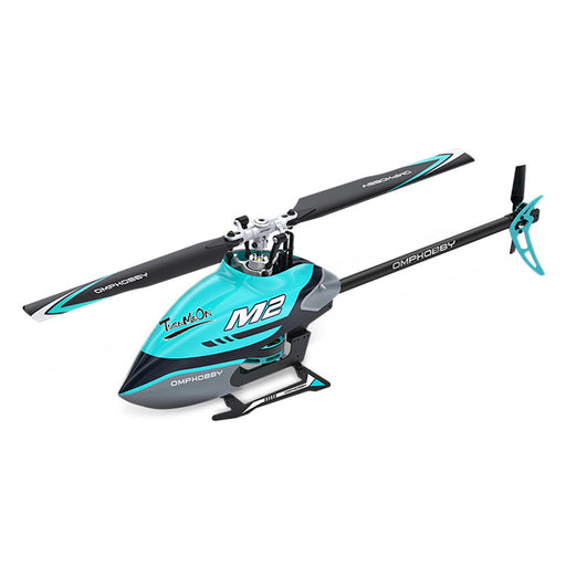 OMPHOBBY M2 6CH 3D Flybarless Dual Brushless Motor Direct-Drive RC Helicopter BNF