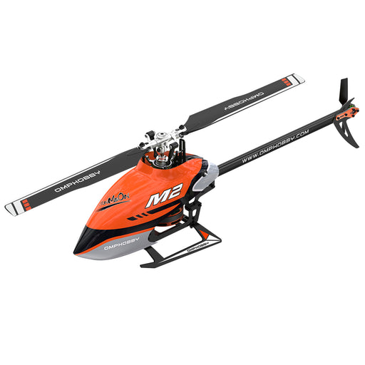OMPHOBBY M2-2020 6CH 3D Flybarless Dual Brushless Motor Direct-Drive RC Helicopter PNP (Without Radio and Receiver)