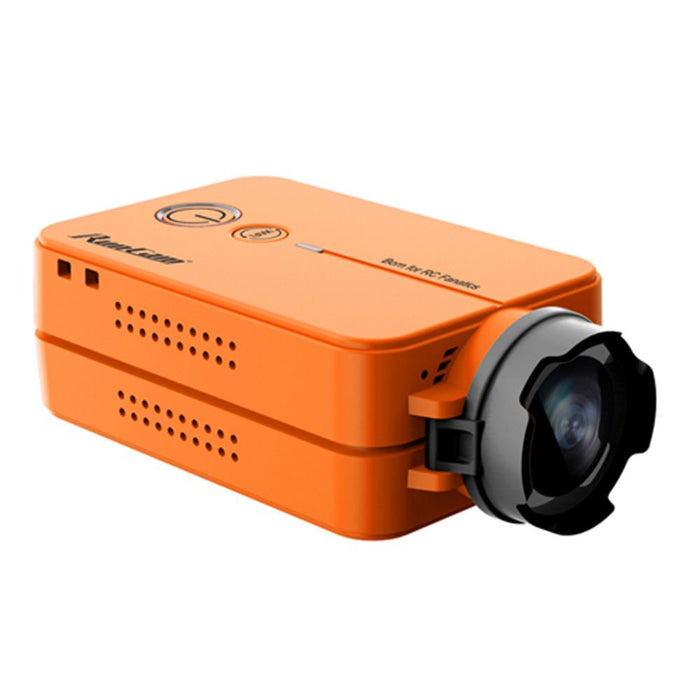 RunCam2 FPV Sport Camera 1080P 60fps HD Mini Action Dash Cam Mobius Built-in WIFI(Orange)