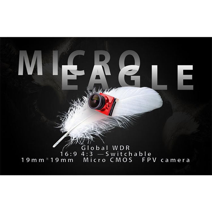 RunCam Micro Eagle FPV Camera 800TVL NTSC/PAL 4:3/16:9 Switchable