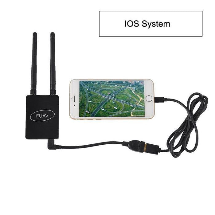 FPV Receiver 5.8G 150CH Wireless Mobile Video Receiver Support IOS or Android