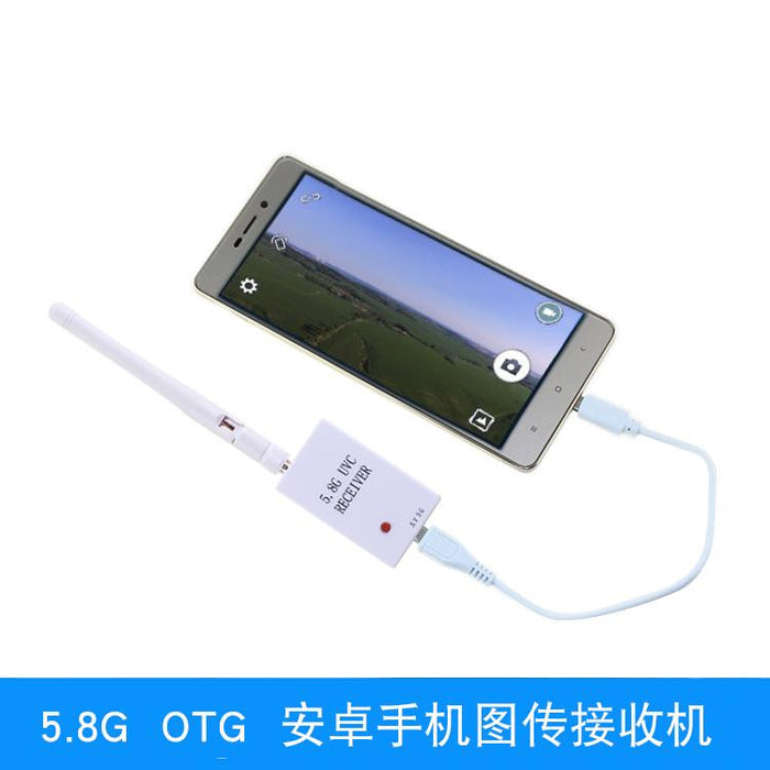 5.8G 32CH OTG FPV Receiver for Smart Phone PC Monitor (Phone not included)