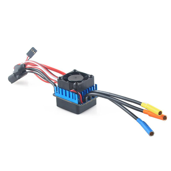 3650 Brushless Motor 5200KV Sensorless RC Car and 60A Splashproof ESC Eletronic Speed Controller