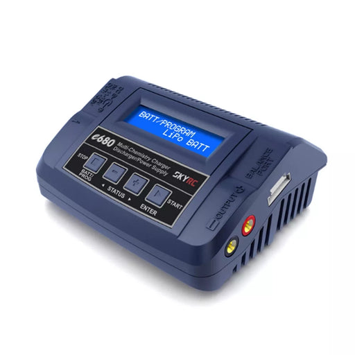 SKYRC e680 80W 8A AC/DC Balance Charger Discharger for 1-6S Lipo Battery - UK plug/US plug