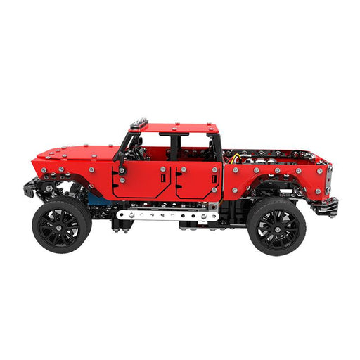 SW 1/16 Stainless Steel DIY Assembling Pickup Truck RC Car