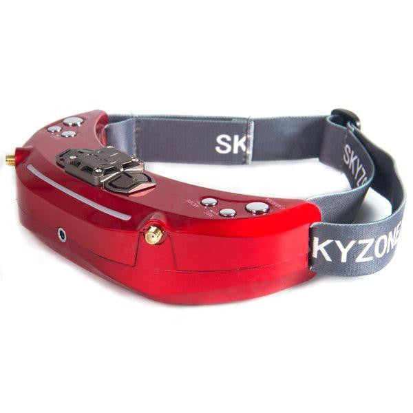 Skyzone SKY03 3D New Version 5.8G 48CH Diversity Receiver FPV Goggles with Head Tracker Front Camera DVR HD