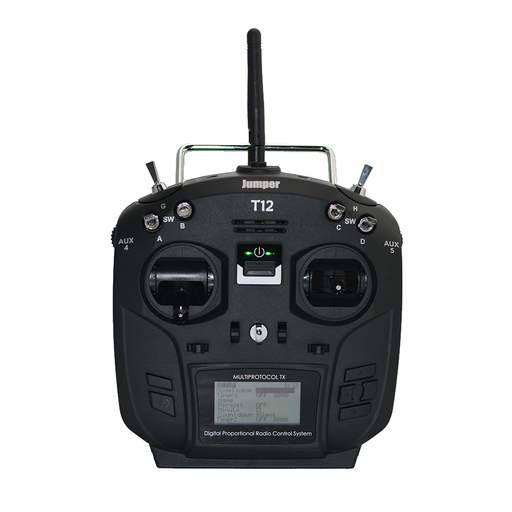 Jumper T12 PLUS Open Source 16ch Radio with JP4-in-1 Multi-protocol RF Module & HALL gimbals