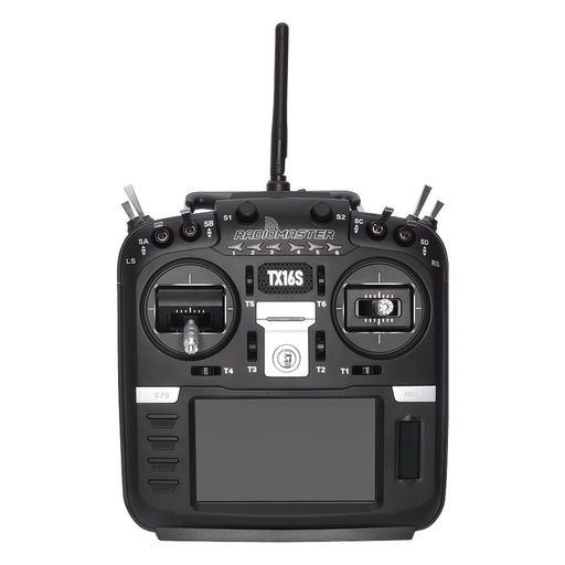 RadioMaster TX16S Hall Sensor Gimbals 2.4G 16CH Multi-protocol RF System OpenTX Mode2 Transmitter with TBS MicroTX