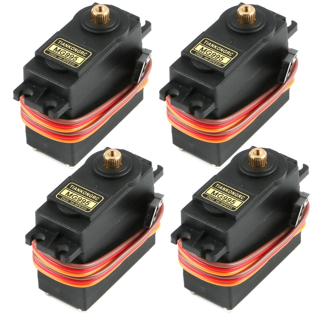 TiankongRC MG995 Digital High Speed Servos (Pack of 4)