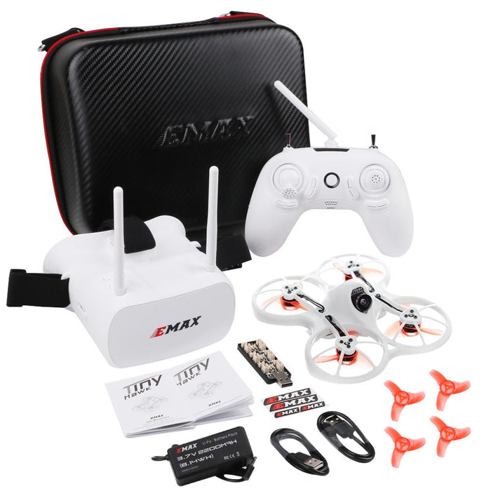 Emax Tinyhawk Indoor FPV Racing Drone with one more Crazepony 600mAh 1S  3 7V LiPo