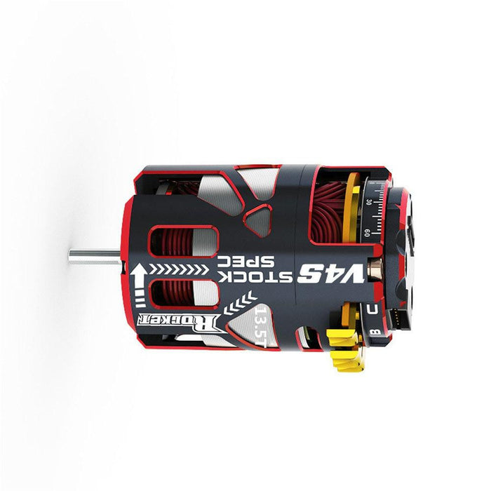 Surpass Hobby V4S Rocket Stock Spec Brushless 2 Sensor 13.5T 21.5T 17.5T RC Car Motor Part