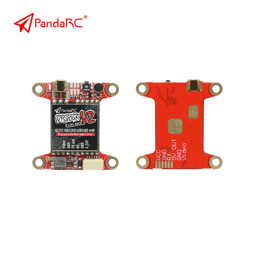 PandaRC VT5804M V2 FPV Transmitter 5.8G 600MW Support OSD Micro/ Audio FPV Video Transmitter