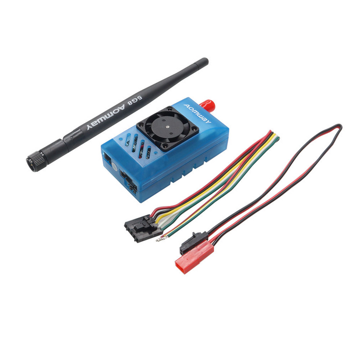 Aomway 5.8G 1000mw Audio / Video AV 1W Transmitter for RC Quadcopter