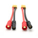 XT90 Female to AS150 Male Connector XT150 Parallel Battery Converter Cable for DJI S900 S1000
