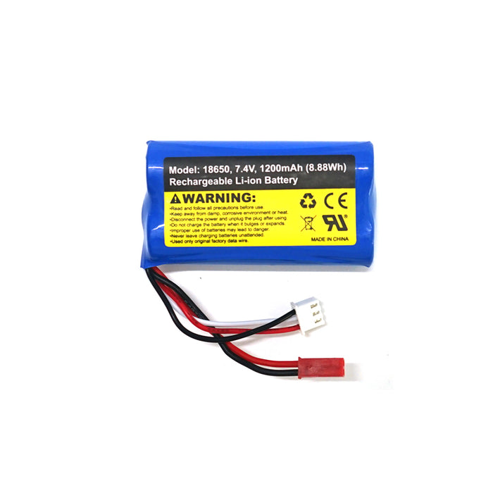 SG 1603/ SG 1604 1pcs 7.4V 1200mah (8.88Wh) Rechargerable LI-ion battery for SG1603/1604  RC car
