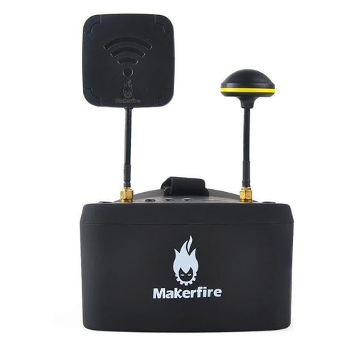 Makerfire EV800D HD FPV Goggles 5.8G 40CH 5 Inch 1280x720 HD Video Headset Built-in DVR